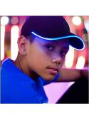Iluminačná šiltovka s modrým svetlom