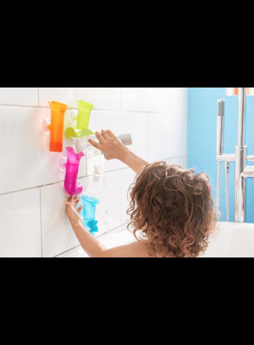 Rúrky s vrtuľkou - zábavné hračky do vane
