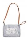 Mini taška s putkom a remienkom MOMMY´S TREASURES,šedá