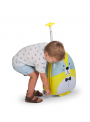 Detský pojazdný kufor Mrož