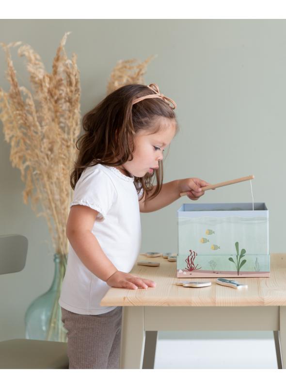 Ideme na ryby detská hra rybačka