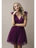 Olivia - mini šaty, lilkové