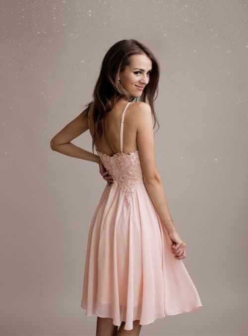 Stella - mini šaty, ružové