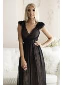 Skylar - maxi šaty, černé