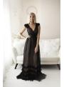 Skylar - maxi šaty, čierne