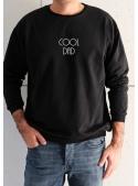"""Pánska mikina """"Cool dad"""" čierna - S"""