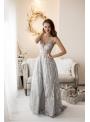 Shine - Maxi šaty s trblietkami