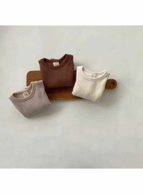 Šedý detský sveter