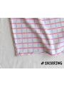 Set - pásikavé šaty + legíny