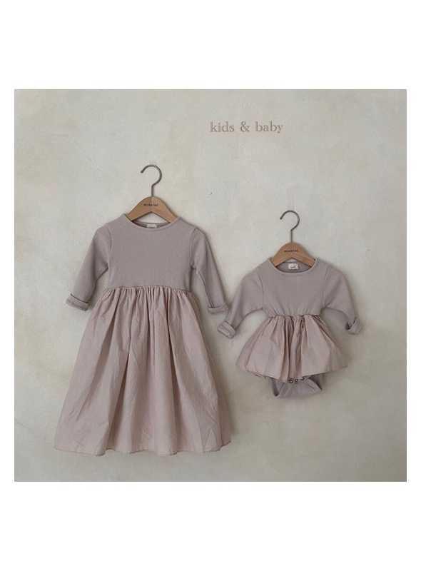 Mauve princess, detské šaty