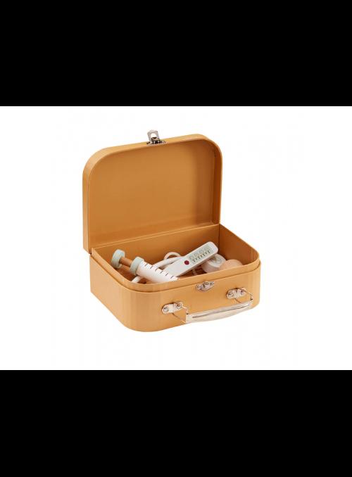 Lekársky kufrík, hnedý