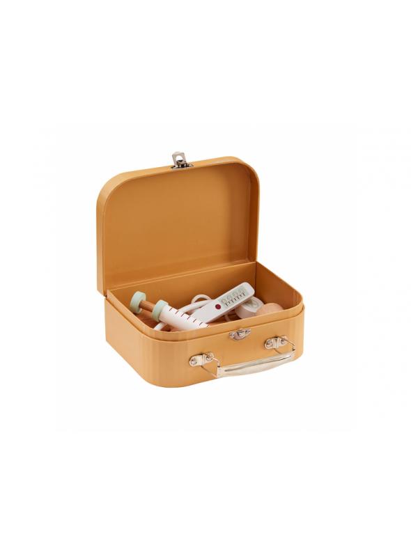 Lekárksy kufrík, hnedý