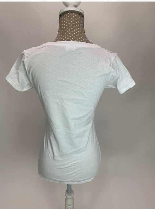 Dámske tričko s V-výstrihom basic