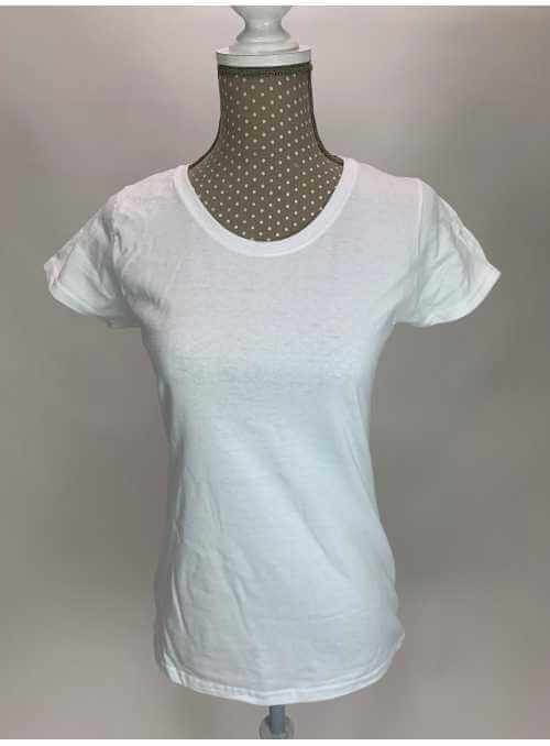 Dámske tričko s okrúhlym výstrihom, basic