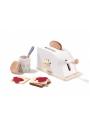 Detský drevený toastovač do kuchynky s príslušenstvom