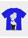 DOLLY tričko doodling, modrá