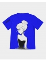DOLLY T-shirt doodling, blue