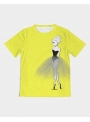 DOLLY T-shirt doodling, yellow