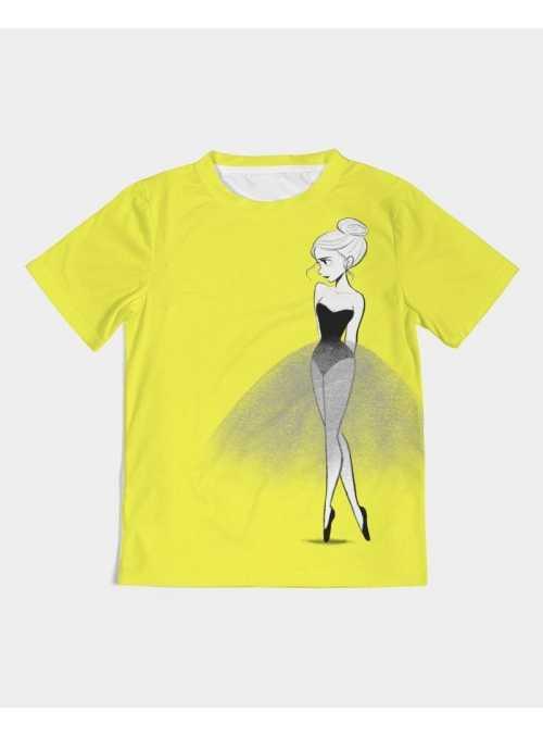 DOLLY tričko doodling, žltá - 4-5 rokov