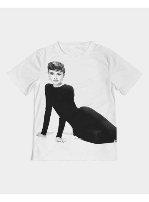 detské DOLLY tričko Audrey Hepburn - 4-5 rokov