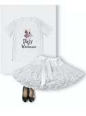 detské DOLLY tričko DOLLY v krajine zázrakov, biele