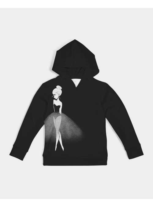 kid Dolly Doodling hoodie, black