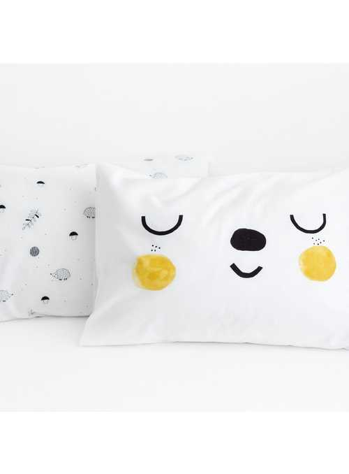 2-pack pillowcase, In the forest, 51x66 cm