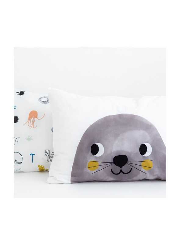 2-pack pillow case, Underwater world, 36x51cm