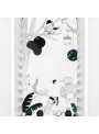 60x120cm Cot Fitted Sheet Woodland Dreams