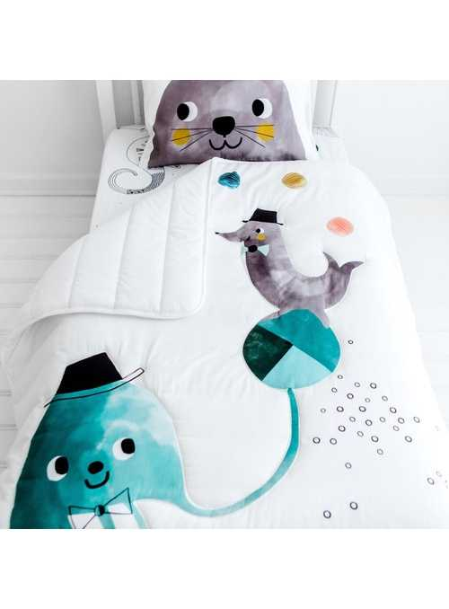 Jellyfish Toddler Comforter by Rookie Humans