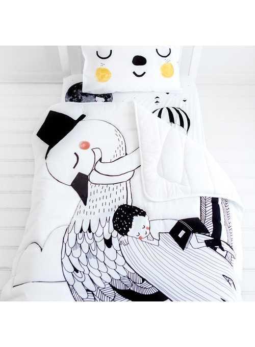 swan Toddler Comforter, 114x142cm