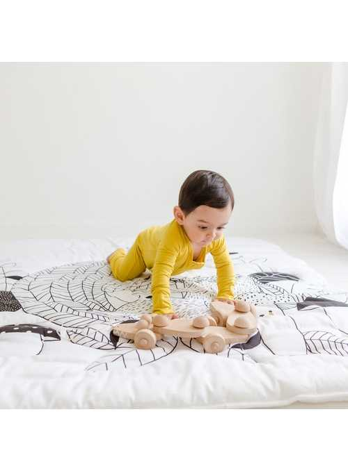 detská prikrývka do postieľky - Veverička, 114x142cm