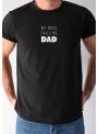 Pánske tričko My boss calls me dad - XL