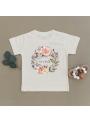 Live wild - detské tričko s ružičkami, matching rodinné