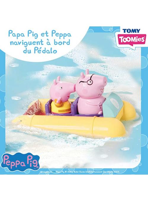 Prasiatko Pepa - letný výlet na loďke