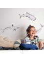 Happy ocean world - wall stickers