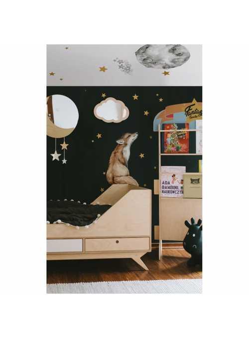Good night mrs. FOX - wall stickers
