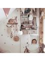 Čarovný zajačí svet - nálepky na stenu 95x70cm