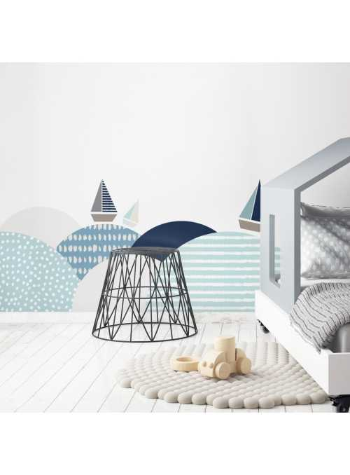 Southerns waves at the sea - wall stickers 155 cm x 50 cm