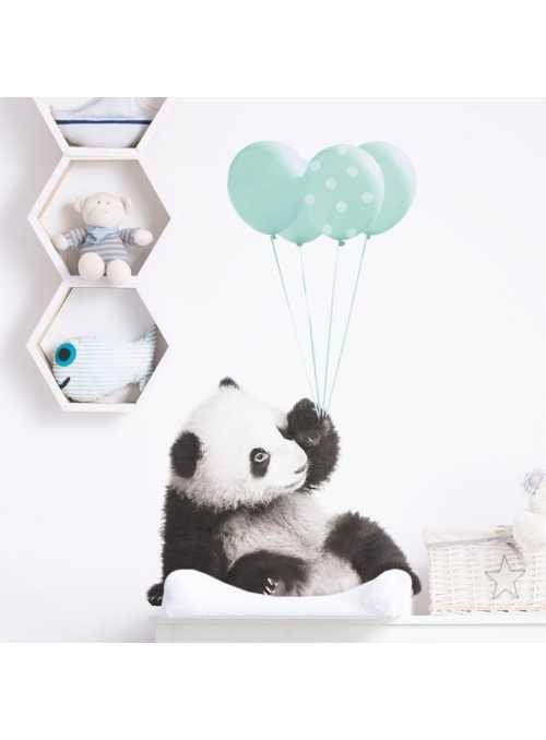 Panda pre môjho chlapčeka - nálepky na stenu