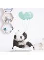 Panda pre môjho chlapčeka - veľkosť S - nálepky na stenu