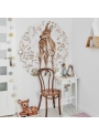 My little bambi - circle wall sticker