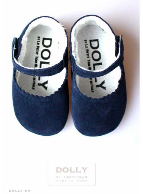BABY MARY JANES 5M navy blue