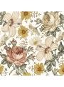 Čaro letnej záhrady - tapeta na stenu