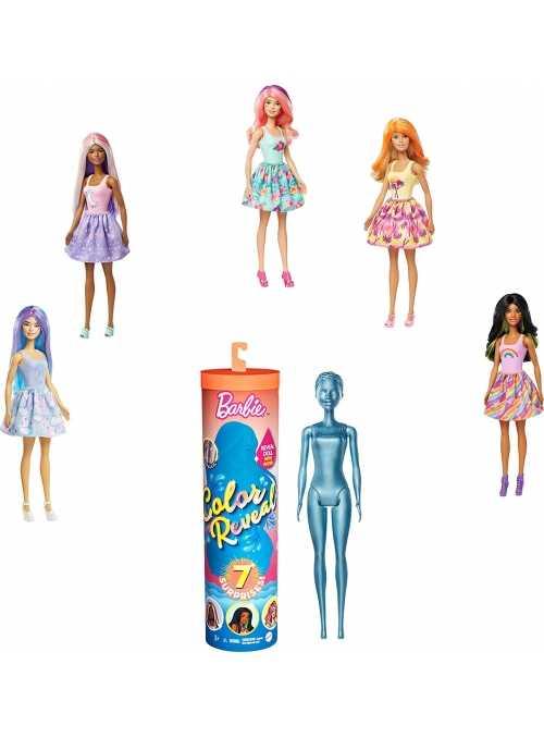 Mattel Barbie - LIMITKA - color reveal, tajomné odhalenie skrytej podoby Barbie