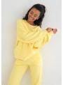 Dámska mikina slniečkovo žltá, XS