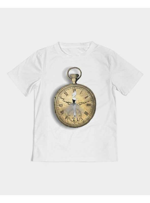 detské DOLLY tričko DOLLY čaj o piatej, biele