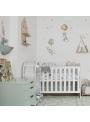 Zajace z rozprávky - nálepky na stenu 100x70cm
