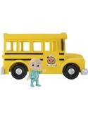 Žltý školský autobus, hudobná hračka a postavička JJ