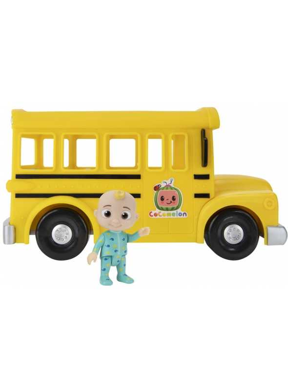 COCOMELON YELLOW SCHOOL BUS, musical toy